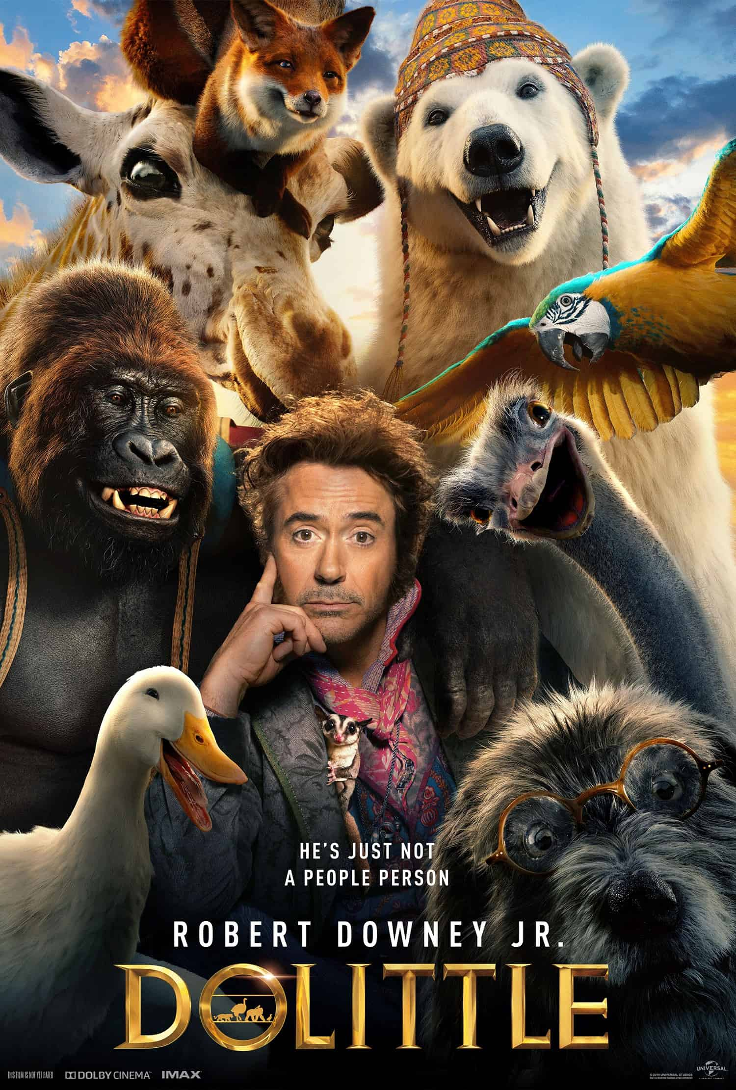dolittle-movie-poster